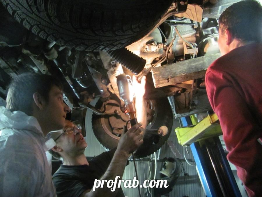 Практические занятия автомехаников