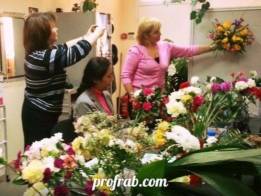 Практические занятия флористов