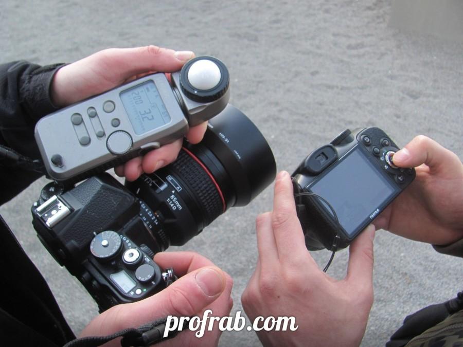 Практические занятия по фотографии