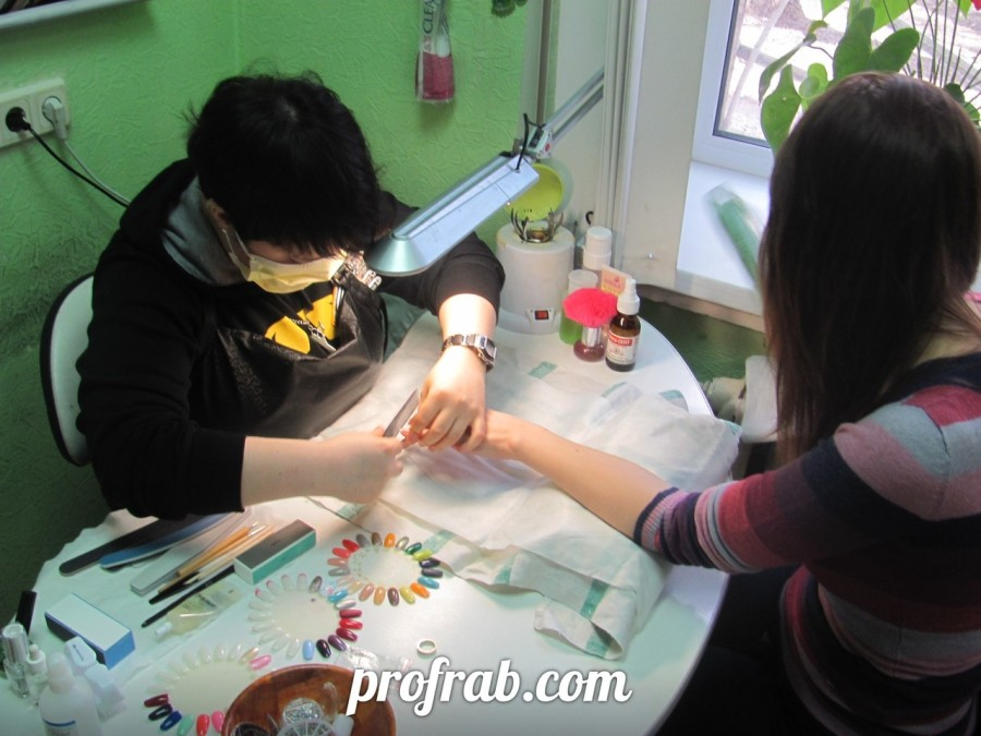 Практические занятия по маникюру